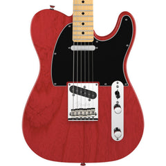 Fender American Standard Telecaster Crimson Red Transparent with Maple Fingerboard Floor Model