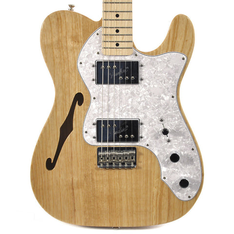 Fender Classic Series '72 Telecaster Thinline Natural