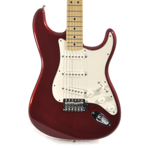 Fender Standard Stratocaster Candy Apple Red