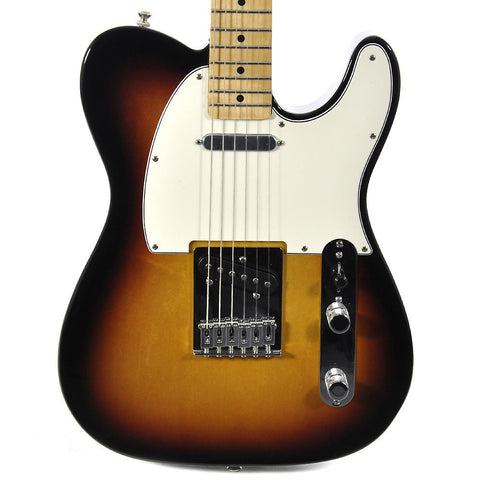 Fender Standard Telecaster Brown Sunburst with Maple Fingerboard
