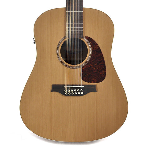 Seagull Coastline Series S12 Dreadnought 12-String QI Acoustic-Electric