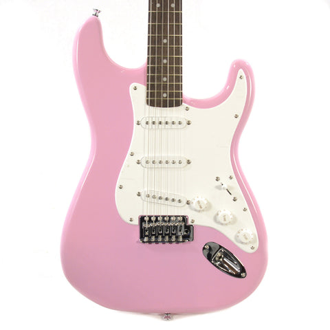 Squier Bullet Stratocaster Pink with Tremolo