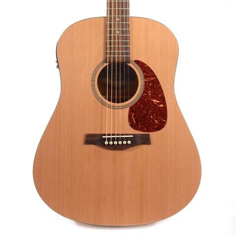 Seagull S6 Classic Dreadnought Solid Cedar & Wild Cherry w/B-Band M-450T Electronics