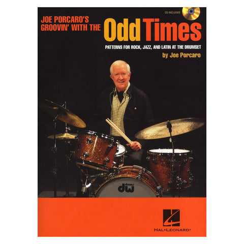 Odd Times by Joe Porcaro Book w/ CD