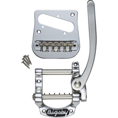 Bigsby B5 Telecaster Vibrato Kit for Flat-Top Solidbody Telecaster Guitars - Nickel