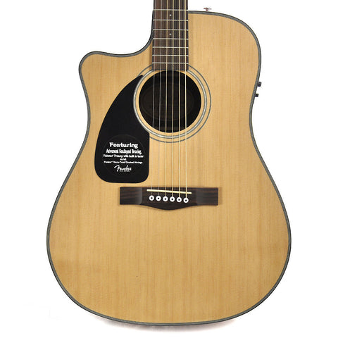 Fender CD100 CE Left-Handed Cutaway Acoustic-Electric