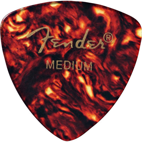 Fender 346 Medium Guitar Picks Shell (12)