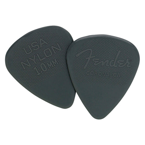Fender Nylon 1.00 Guitar Picks Pack (12)