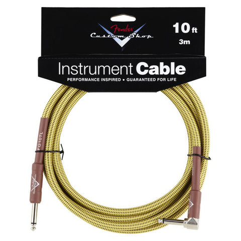 Fender Custom Shop Instrument Cable 10' A/S Tweed