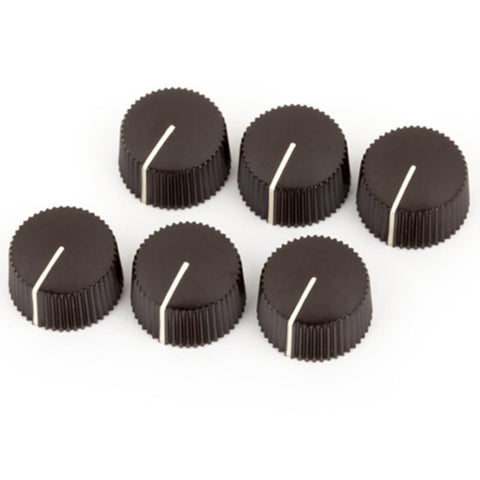 Fender Vintage Brown Amp Knobs (6)