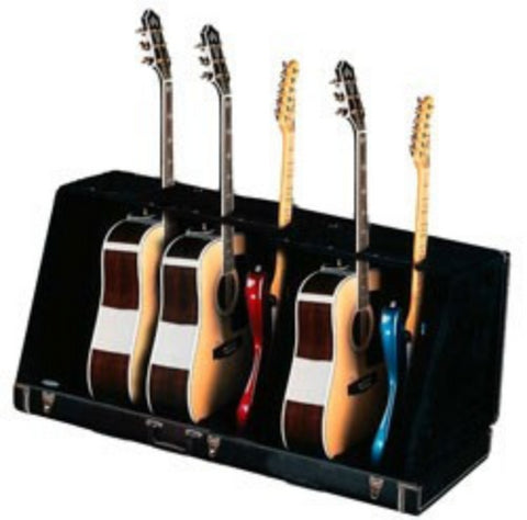 Fender Seven Guitar Case Stand - Black