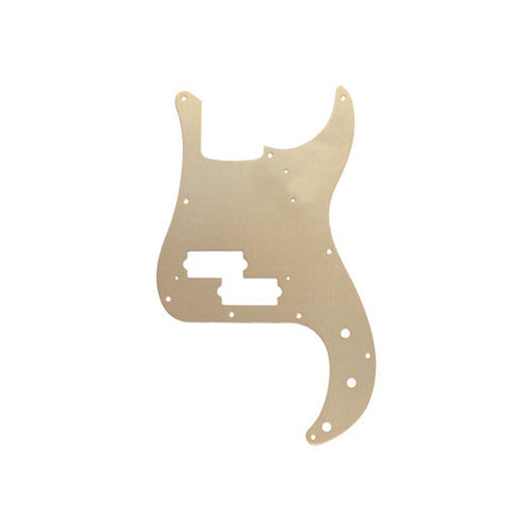 Fender P-Bass Pickguard '57 Gold Anodized