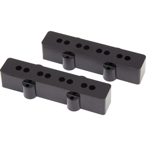 Fender Original Jazz Bass Pickup Covers Black