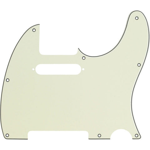 Fender Standard Telecaster Pickguard Std. Mint Green 3 Ply