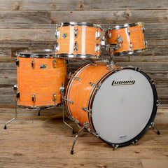Ludwig 12/13/16/22 4pc Kit Mod Orange 1970s