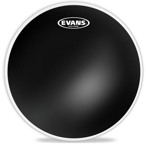 Evans 15 Inch Black Chrome Tom Batter Drum Head