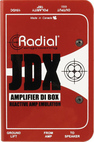 Radial JDX Reactor Guitar Amp and Cabinet Direct Box