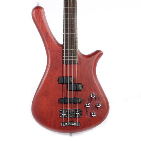 Warwick Rockbass Fortress 4-String Active Red Oil Finish