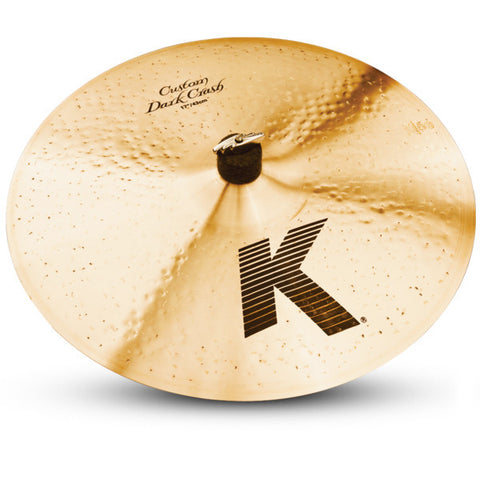 Zildjian 17 Inch K Custom Dark Crash Cymbal