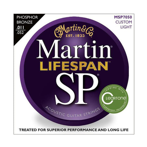 Martin SP Lifespan 92/8 Phoshor Bronze Custom Light 11-52