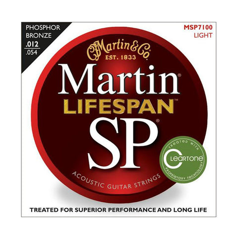 Martin SP Lifespan 92/8 Phoshor Bronze Light 12-54