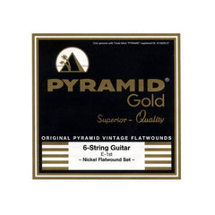 Pyramid Gold Heavy Flatwound Electric Strings 13-56