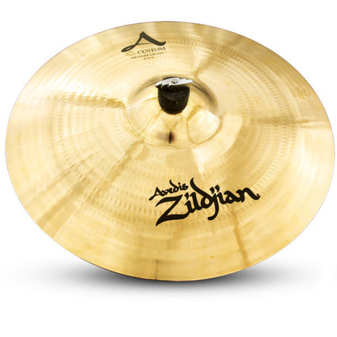 Zildjian 18 Inch A Custom Medium Crash Cymbal