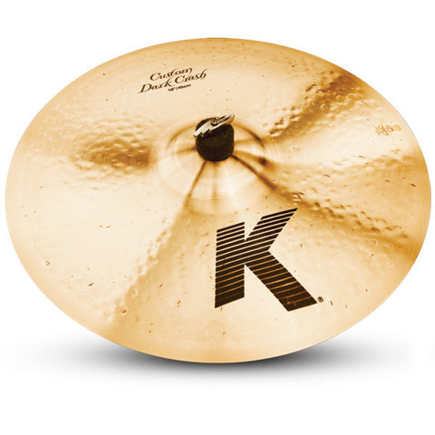 Zildjian 18 Inch K Custom Dark Crash Cymbal