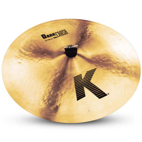 Zildjian 19 Inch K Dark Crash Cymbal Thin