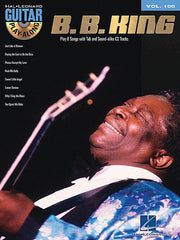 B.B. King Guitar Play-Along Volume 100 by McGee