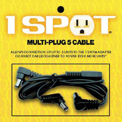 Visual Sound Multi Plug 5 Cable for 1 Spot