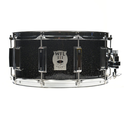 WFL III 6.5x14 Black Sparkle Snare Drum