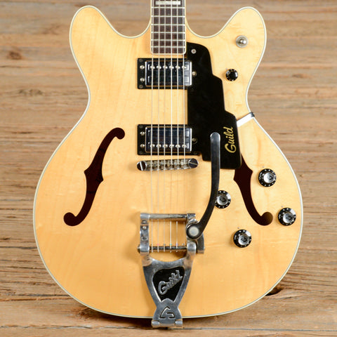Guild Starfire IV Natural 1977 (s534)