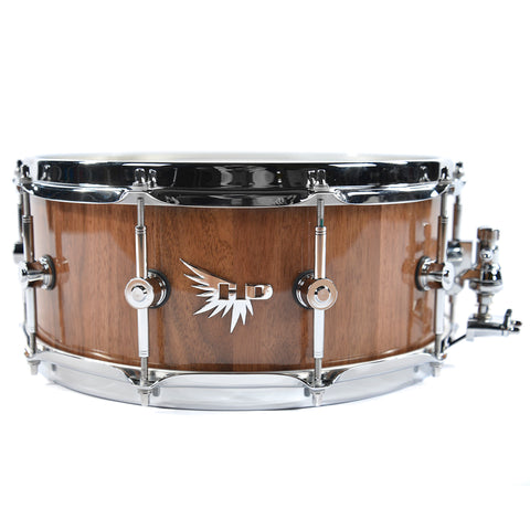 Hendrix 6x14 Gloss Walnut Snare Drum