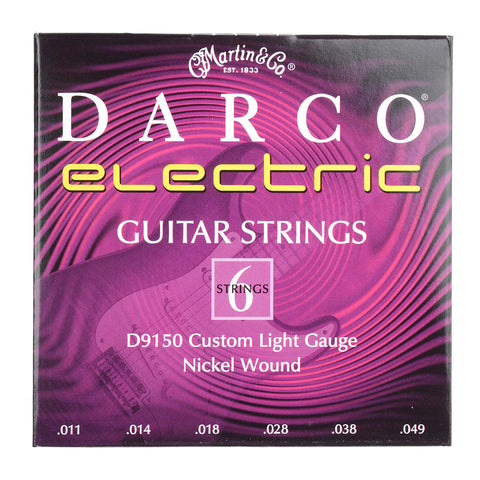 Martin Darco Electric Strings Custom Light 11-49