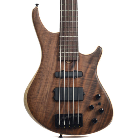 Roscoe SKB Standard 5 Plus, Walnut Burl Top, Swamp Ash Body (Serial #I010)