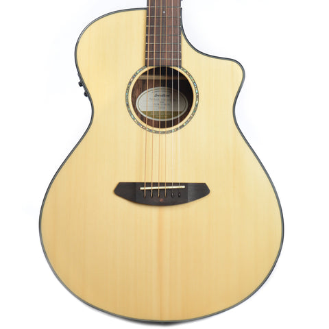 Breedlove Pursuit Concert Ebony Cutaway Acoustic-Electric