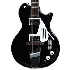 Supro 1575JB Black Holiday Jet Black