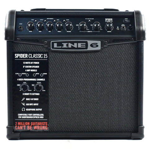 Line 6 Spider Classic 15w Combo