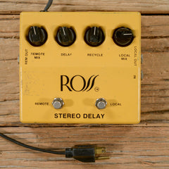 Ross Stereo Delay 1970s