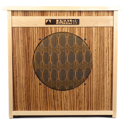 Analog Outfitters 1x12 Cabinet Custom Zebrawood