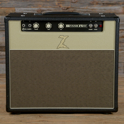 Dr. Z Stang Ray 1x12 Combo - Black & Blonde with Tan Grille USED