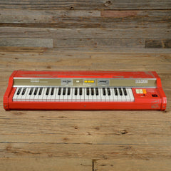 Hohner Bambi Organ Red 1970s AS IS