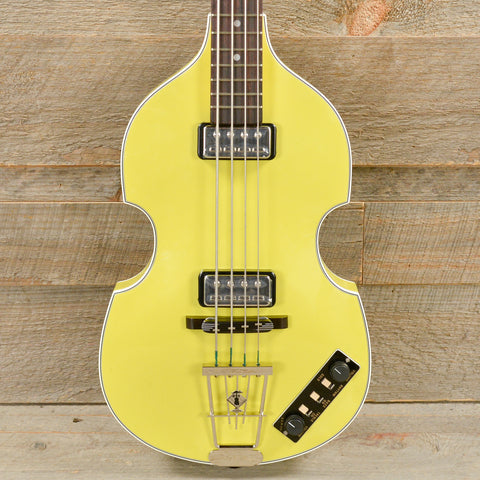 Hofner Gold Label Berlin 1962 Reissue 500/1 Violin Bass Yellow USED