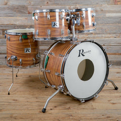 "Rogers ""Big R"" 14/15/16/24 4pc Drum Kit Koa Late 1970s USED"