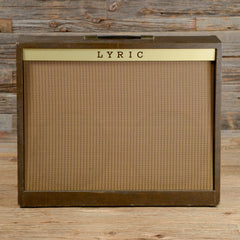 "Lyric Custom 660 2x12"" Combo Amp 1960s"