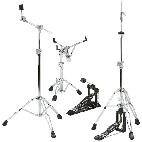 DW 3000 Series Hardware Pack (Snare, Hihat, Boom, Pedal)