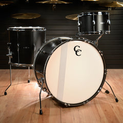 C&C Player Date 2 13/16/24 3pc Big Band Kit Ebony Stain