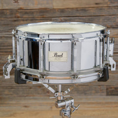 Pearl 6.5x14 Free Floating Steel Shell Snare Drum USED