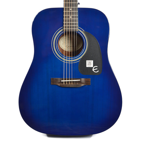 Epiphone PRO-1 Dreadnought Acoustic Trans Blue
